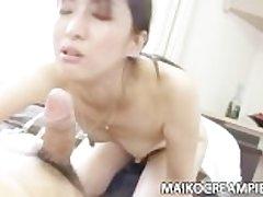 Japanese MILF Miki Sugimoto Horny Making love
