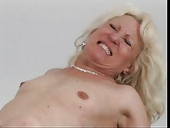 Full-grown blonde acquire eaten out then fucked
