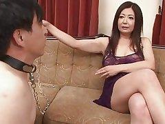 Japanese Mature Ayano Murasaki with an increment of Menial (Uncensored)