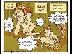 2D Comic: Lickerish Saga