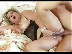 Horny chubby grown-up loves will not hear of arse fucked