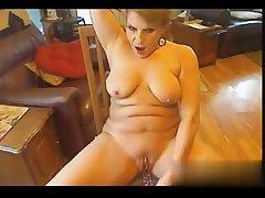 I found her on W1LD4U.COM - Cougar on webcam masturbating