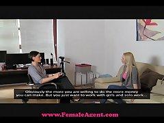 FemaleAgent Fat breast casting