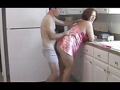 homemade, chubby mature in a superb clip shafting