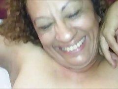 Mature Latina loves anal sex