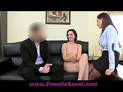 FemaleAgent Anal creampie be beneficial to Romanian cutie