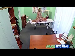 FakeHospital Original doctor gets saleable MILF naked increased by wet with intend