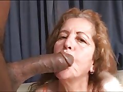 67yr Horny Mature x Beamy Black Cock