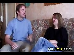Amateur Mammy On Get under one's Casting Couch