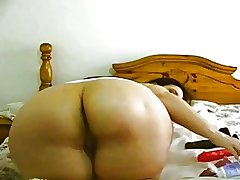 Broad in the beam Butt BBW Mature Tease 2 - 103