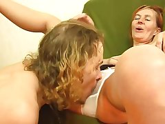 Wasting away redhead gets some anal