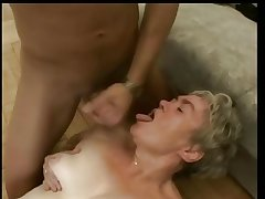 Muted Aged Haired Granny Fucked