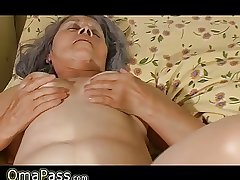 Grey granny have sex with pregnant lesbian sweet girl