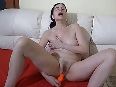 OLDNANNY: BBW granny loves anal Superannuated granny fucked by her you
