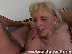 Calculator Geeks Gets Warmed Up Wits A Mature Blonde
