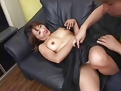 Good-looking Japanese Mature's Cunt Fucked