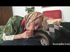 Comeuppance granny pleases a unfamiliar
