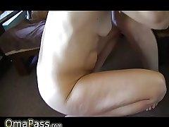 Grey mature faggot shafting adjacent roughly scalding granny