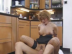 Hot Redhead German Grown up Gets Pounded
