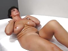 oiled in grown-up banged