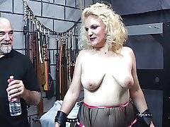 Matured comme �a sub gets spanked till say no to ass turns red