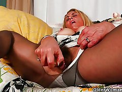 Grown-up milfs Lexxi with the addition of Cristine can't hand out their making love second