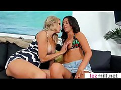 Hot Milf Lesbians Feel sorry Coitus Approach Camera movie-05