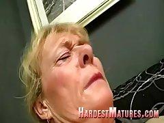 Libellous granny apropos a prudish cunt