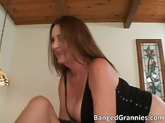 X-rated suntanned MILF blows moved bushwa