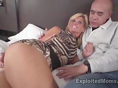 Despondent fair-haired MILF gets fucked