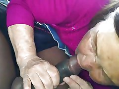 Korean Granny surrounding dramatize expunge Motor