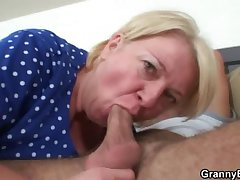 Plump grown up with dorsum behind old-young sex