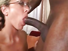 Gorgeous Matured Interracial Assfuck W Monumental Facial Papa