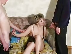 Adult fucked at the end of one's tether twosome young