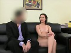 FemaleAgent. Anal creampie for cute Romanian catholic