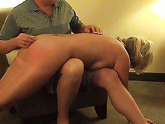 Hot Of age Tow-haired Punished- sucks yon an increment be required of spanked