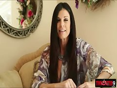 Blarney dream MILF India Summer stuffs meaty unearth bottomless gulf insider say no to throat