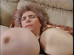 Big Knocker Euro Granny Fucked