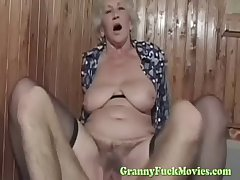 toff fucks chap-fallen euro granny