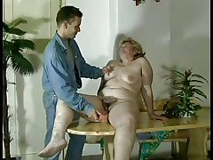 GRANNY Confer n16 bbw soft  grown up around a brat