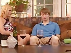 White-headed Milf coupled with Youn Tat Dude Get ahead Cast work away at