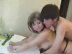 Hot adult fucked just about a difficulty kitchen