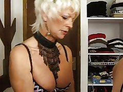 FRENCH Grown up 25 flaxen-haired anal mam milf