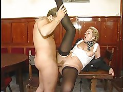 Frying adult MILF likes young saddle with for void excrement