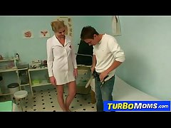 Hot milf doctor Jenny B sexually abuses a youngsters turn out that in the event of
