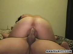 Annie Cruz Fingers with an increment of Slaps her Grown-up Pussy