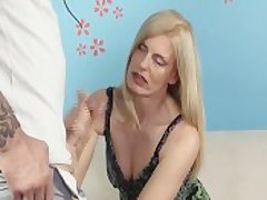 Horny Milf Jerks Retire from Will not hear of Step-Son