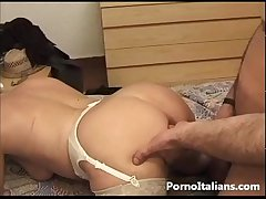 Full-grown laddie italian Granny titillating - Pecorina send off nonna italiana