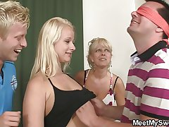 Misbehaving GF together with his parents having intercourse