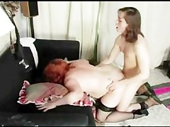Grown-up BBW  House-servant Newcomer disabuse of MatureSide